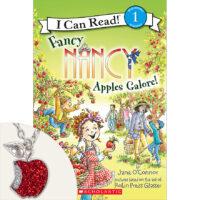 Fancy Nancy: Apples Galore! Book Plus Necklace