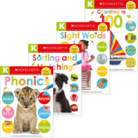 Scholastic Early Learners Kindergarten Skills Workbook Pack