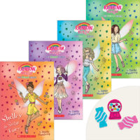 The Sweet Fairies Books Plus Erasers