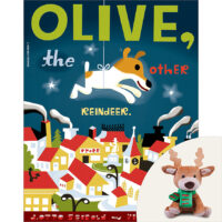 Olive, the Other Reindeer Book and Plush Set