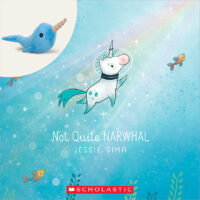Not Quite Narwhal Book and Plush Set