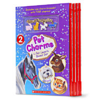 Pet Charms: The Pet Lover's Box Set with 4 Readers and Bracelet