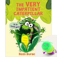 The Very Impatient Caterpillar Book Plus Squishy