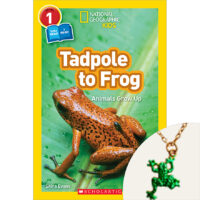 National Geographic Kids™: Tadpole to Frog Book and Necklace Set