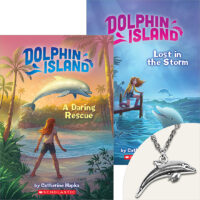 Dolphin Island Books and Dolphin Necklace