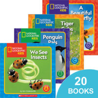 National Geographic Kids™ Guided Reader Pack (A–D)