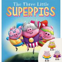 The Three Little Superpigs Plus Figurines