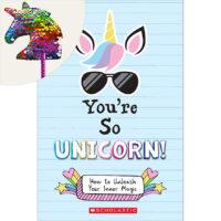You're So Unicorn! Plus Rainbow Sequin Unicorn Pen