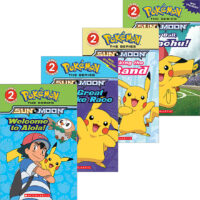 Pokémon™ Alola Reader 4-Pack
