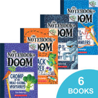 The Notebook of Doom #1–#6 Pack