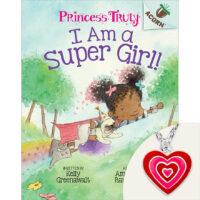 Princess Truly: I Am a Super Girl! Book Plus Necklace Set