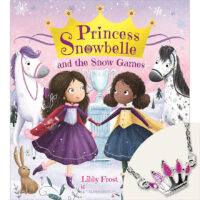 Princess Snowbelle and the Snow Games Book and Necklace Set