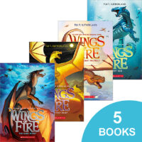 Wings of Fire #1–#5 Series Starter Pack