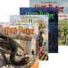 Harry Potter Illustrated Editions 4-Pack