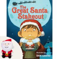The Great Santa Stakeout Plus Plush