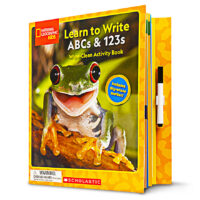 National Geographic Kids™: Learn to Write ABCs & 123s