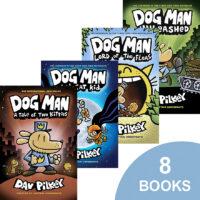 Dog Man 8-Pack