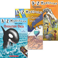 A to Z Mysteries® Super Edition Trio