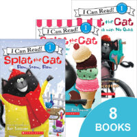 Splat the Cat Adventure 8-Pack