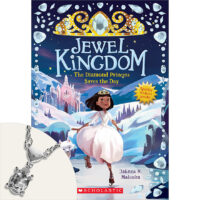 Jewel Kingdom #4: The Diamond Princess Saves the Day Plus Necklace