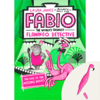 Fabio the World's Greatest Flamingo Detective: The Case of the Missing Hippo Book Plus Pen