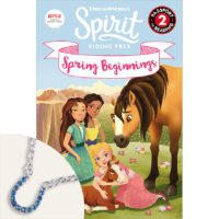 Spirit Riding Free: Spring Beginnings Book Plus Bracelet