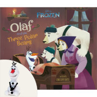 Frozen: Olaf and the Three Polar Bears Plus Eraser