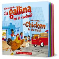 Dónde está…¿la gallina en la ciudad? / Can You Find…a Chicken in the City?