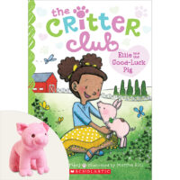 The Critter Club: Ellie and the Good-Luck Pig Plus Plush