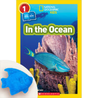 National Geographic Kids: In the Ocean Book Plus Fish Toy