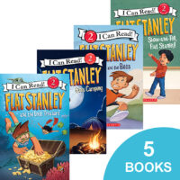Flat Stanley Reader Fun 5-Pack