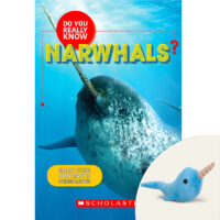 Do You Really Know Narwhals? Book and Plush Set