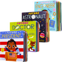 Future Baby Board Book 4-Pack
