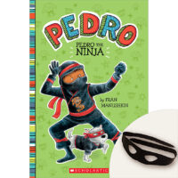 Pedro the Ninja Book Plus Mask Set