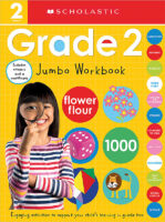 Scholastic Early Learners: Grade 2 Jumbo Workbook