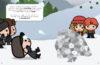 Harry Potter™: Create by Sticker: Hogsmeade