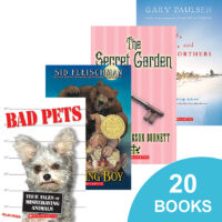 20 Books for $20: Grades 4–6