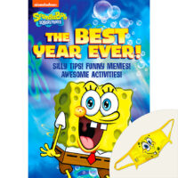 SpongeBob SquarePants™: The Best Year Ever! Book Plus Mask