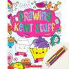 Drawing Kewt Stuff Book Plus Color Pencils
