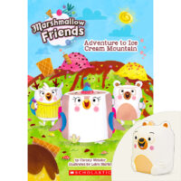 Marshmallow Friends: Adventure to Ice Cream Mountain Plus Squishy