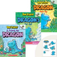 Dragon's Adventure 3 Books Plus Stickers
