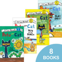 Pete the Cat Adventures 8-Pack