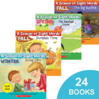 A Season of Sight Words Collection