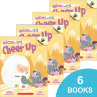 Unicorn and Yeti: Cheer Up 6-Book Pack