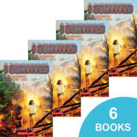I Survived the California Wildfires, 2018 6-Book Pack