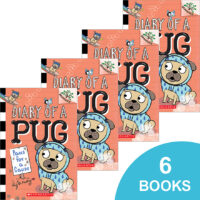 Diary of a Pug #3: Paws for a Cause 6-Book Pack
