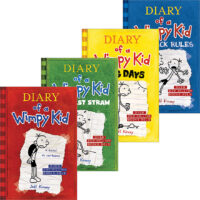 Diary of a Wimpy Kid #1–#4 Pack