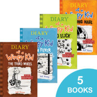 Diary of a Wimpy Kid #5–#9 Pack