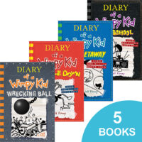 Diary of a Wimpy Kid #10–#14 Pack