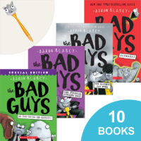 The Bad Guys: 10 Books Plus Eye-Popper Pen